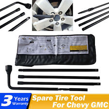 For 2002-2014 Cadillac Escalade Car Truck Spare Tire Tool Kit with Carry Case