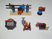 Lego ® Accessoire Minifig Barbecue BBQ Choose Model NEW