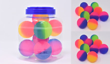 55mm Ball Toy 10 PCS  Mixed Colour Bouncy Child Elastic Rubber Kids