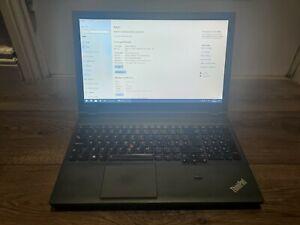 Lenovo Thinkpad T540p i5 2.5Ghz 4Gb 500Gb Windows 10 Pro 15.6 Backlit Keyboard