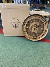 Michigan State Barrel Head Clock