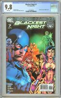 Blackest Night #7 CGC 9.8 WP 2132796018 Sinestro 1st White Lantern