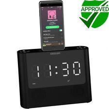 Aux Clock Radio MP3 Player Docks & Mini Speakers for Apple