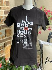 The Goo Goo Dolls Dizzy Up The Girl 2018 Tour Black Size S Schedule on Back