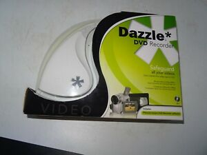 DAZZLE Video Creator DVD Recorder  Video VHS Audio Capture  (Never Used)