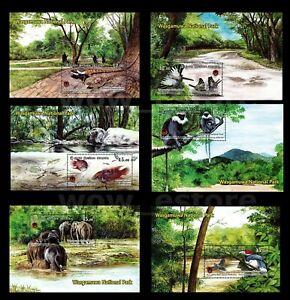 Sri lanka stamps Wasgamuwa national park 2019 6 MS