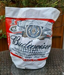 BUDWEISER KING OF BEERS INFLATABLE BOTTLE COOLER / ICE BUCKET BRAND NEW