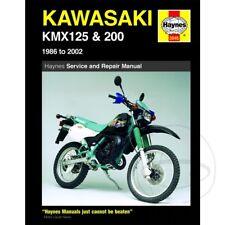 Kawasaki KMX 125 B 1999-2000 Haynes Service Repair Manual 3046