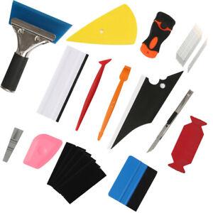 Auto Folien Set Folierung Werkzeuge Car Wrapping Verklebe Werkzeuge Tuck Rakel
