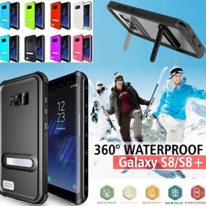 360° Waterproof Shock Snow Proof Case IP68 Cover For Samsung Galaxy S8+ S9 Plus