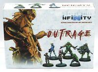 Infinity #673 Mercenaries Outrage Characters Pack Box Set Male & Female Heroes