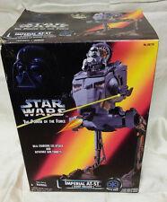 Vintage Star Wars AT-ST imperial Walker - 1995 - Complete MIB in Box