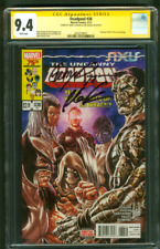 Deadpool 38 CGC 9.4 2XSS Liefeld Duggan Uncanny X Men 210 Homage Key Cover