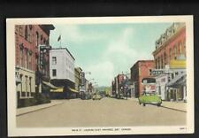 pk34117:Postcard-Main Street Looking East,Napanee,Ontario