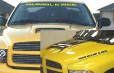 RUMBLE BEE 1500 HOOD & WINDSHIELD DECAL KIT 3PC FITS RAM MOPAR DODGE SRT NEW