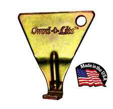 """Omni-Lite """"Gold Series"""" Track Spike Wrench/Key Removal Tool - Made in USA"""