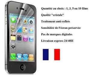 1, 3, 5 O 10 Film Protezione Schermo Per IPHONE 4 4S O 4G Quantità una Scelta
