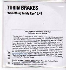 (BS912) Turin Brakes, Something In My Eye - DJ CD