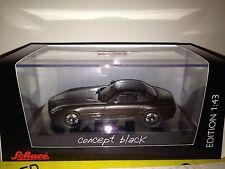 SCHUCO Mercedes-Benz SLS AMG Matt Black 1:43 Super Rare **Nice**