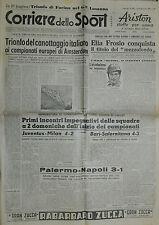 Corriere dello Sport N° 205 del 29 AGO.1949 - ELIA FROSIO CONQUISTA IL TITOLO