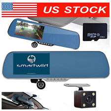 32GB HD 1080P Rear View Mirror Camera Recorder CAR Dash Cam DVR Smartwild W940