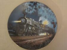 The 20Th Century Limited collector plate Steam Locomotive Railroads Train Pierce