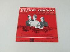 """DOCTOR ZIVAGO - TOM PATRICK/ANGEL POCHO GATTI - 7""""OST 1966 ITALY - VG/EX - Q1"""