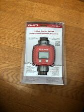 Tuthill Fill Rite Fr1118A10 1'' In Line Digital Fuel Diesel Meter Electronic
