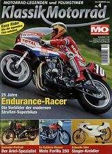 Klassik Motorrad 4/06 2006 Yamaha PW 50 Moto Parilla MV Agusta Ariel Cal Rayborn