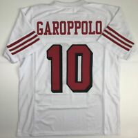 0ac62f69f New JIMMY GAROPPOLO San Francisco White Alternate Custom Stitched Jersey  Mens XL