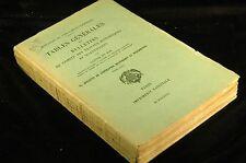 Tables Generales Des Bulletins Du Comite Des Travaux Historiques Et Scientifique