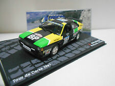 AUDI QUATTRO RALLY TOUR CORSE 1981 MOUTON EAGLEMOSS IXO 1/43