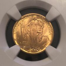 1926 $2 1/2 Gold Sesquicentennial MS66 NGC Graded Free Shipping !!!!!!!!!!!!!