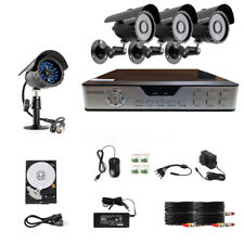 Zmodo 4 Ch Home Security Video System & 4 600Tvl Cameras & 500Gb Hdd-Clearance