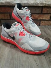 Nike Lunarglide 3 Running Gym AthletShoes Grey / Red 454164 001 Mens Size 10.5
