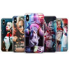 Harley Quinn Phone Case Cover, Fits iPhone Suicide Squad Phone Case Silicon