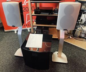 Naim Audio N-sat Speakers With Stands UK Official Dealer