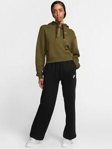 Nike Sportswear Essential Womens Fleece Pants BV4093 010 SMALL $45