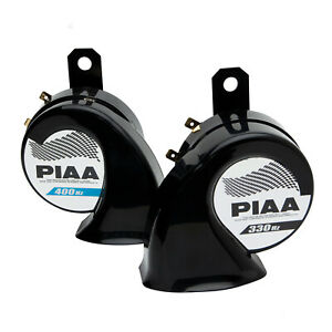 PIAA 85115 LOUD SPORTS HORN SUPERIOR BASS (SET OF TWO) - 330hz & 400hz