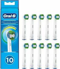 Oral-B Precision Clean Testine di Ricambio con Setole CleanMaximiser, 10 Pezzi - Bianchi