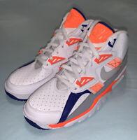 "Nike GS Air Trainer SC (White/ Total Orange) ""Bo Jackson"" size 7Y CJ0580-100"