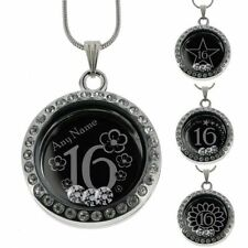Crystal Glass Stainless Steel Costume Necklaces & Pendants