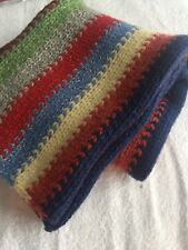 Scarf- Abercrombie Knitted Wool blend Bright colorful outdoor warm gift xmas