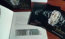 QTY 4 NEW Cle De Peau Le Serum Samples Foil Packs Sealed each has 2 x .4mL each