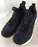 Nike Lebron XV Low Black/Metallic Gold Phantom Shoes AO1755-001 Men's Size 8.5