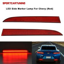 LED Rear bumper Side Marker reflector Light For Chevy Camaro Traverse Cadillac