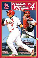YADIER MOLINA - ST LOUIS CARDINALS POSTER - 22x34 MLB BASEBALL 14697