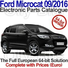 Microcat Ford 09/2016 Electronic Parts Catalogue (EPC). For 64-bit systems.