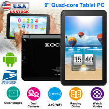 "KOCASO 9"" Android 5.1 Tablet PC Quad Core 8GB Touch Screen HD Dual Camera WIFI"