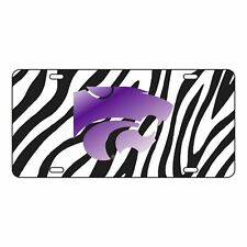 Kansas State Tag (Laser Zebra Power Cat Tag (21236)